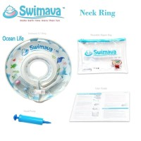 Swimava Neck Float Ivory Ocean Life