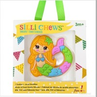 Silli Chews Baby Teether Mermaid