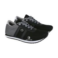 Sepatu Sneakers Olahraga Anak Laki Umur 7 - 13 Tahun BSD 008-134 Hitam