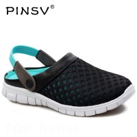 Sepatu Pinsv Sepatu Musim Panas Pantai Pria Sandal Pria Sepatu Bakiak