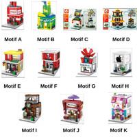 Mainan Koleksi Brick Sembo Block Mini Mainan Edukasi Anak- ASY010