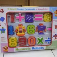 mainan anak robot angka