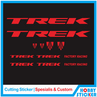 Decal Frame Trek Sticker MTB Stiker Sepeda Custom