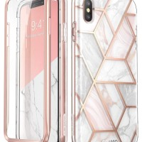 i-Blason iPhone XS Max Case Cosmo V2 with Screen Protector - Marble