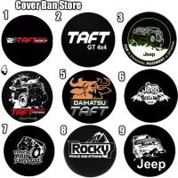 Cover Ban sarung ban serep Mobil Taft Daihatsu berkualitas