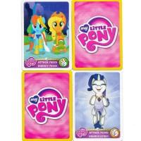 Kartu My Little Pony mainan Trading Card Game