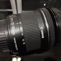 Canon EFS 10 18mm F4 5 5 6 IS STM Good Condition