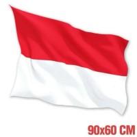Bendera merah putih ukuran 60 Cm x 90 Cm