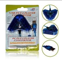 USB PC PS II 2 PLAYER CONVERTOR
