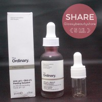 SHARE - The ordinary AHA 30% + BHA 2 % peeling solution