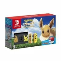 Nintendo Switch Pokemon Lets Go Eevee Console Game Pokeball