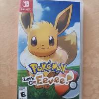 Nintendo Switch Pokemon Let s Go Eevee Lets Go