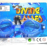 Kacamata renang anak murah - Diving Glasses 8801