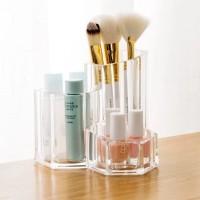 Acrylic makeup organizer rak tempat penyimpanan serbaguna akrilik meja