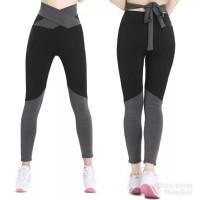 Celana Sport legging panjang olahraga gym fitness senam wanita
