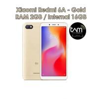 XIAOMI Redmi 6A RAM 2/16 GARANSI RESMI TAM GOLD - emas
