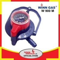 Regulator Winn Gas W-900 M Double Lock (Dengan Meteran)