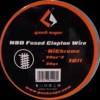 Geek Vape Ni80 Fused Clapton Wire 28GA*3 36GA Nichrome GeekVape