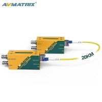 Fe1121 AVMATRIX 3G-SDI FIBER OPTIC TRANSMITTER AND RECEIVER