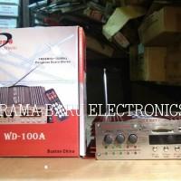 Amplifier WONDER WD 100 Bisa difungsikan untuk audio dimobil atau ruma
