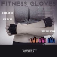 Gloves Sarung tangan Fitness Gloves GYM CROSSFIT AOLIKES