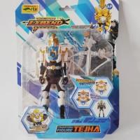 Mainan Legend Hero Transform Figure / Legend Hero Figur Tejha