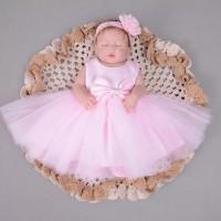 Boneka Reborn with Dress / Boneka Mirip Bayi NPK