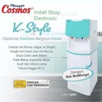 Dispenser Cosmos CWD 5603 galon atas 3kran /Cosmos Dispenser Tinggi