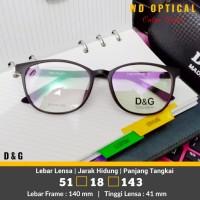 Frame Kacamata Murah Pria/Wanita/Fashion MT 19