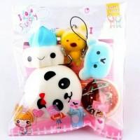 Promo Squisy Sekuisi Mainan Squishy Paket Hemat Koleksi Anak Paling Hi