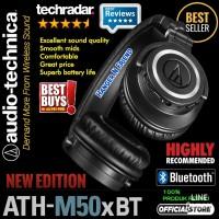 AUDIO TECHNICA ATH M50xBT/ ATH M50x BT Monitoring Bluetooth Headphone