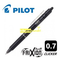 Pilot Frixion Ball 0.7mm Clicker BLRT-FR7/ Pen bisa dihapus