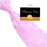 dasi batik import pria besar warna pink 4 inch platinum class
