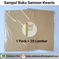 Sampul Buku Samson Kwarto Tebal per 20 Lembar