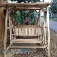 ayunan kayu jati berkualitas kursi teras kursi taman