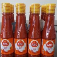ABC sambal saus asli botol 135ml saus sambal cabe botol harga murah