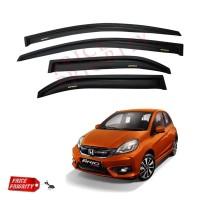 Talang Air Honda Brio Side Visor Brio - Slim 3M