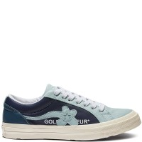 Sepatu Converse x Golf Le Fleur One Star Low Blue Murah