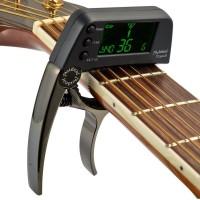 Meideal TCapo20 Deluxe Capo - Tuner Gitar warna Hitam