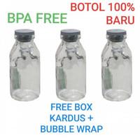 Botol ASI Kaca 100% BARU Botol Kaca ASIP VIAL 100 ml BD07