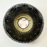 """Scrubbing Brush 16/17"""" / Sikat Kasar Mesin Poles Ring Besi & Plastik"""