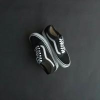 Sepatu Vans Old School Original | Vans Old School Japan Black White