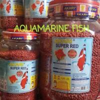 Pelet Akari Super Red 4 kg 4kg 4000gr 5mm makanan ikan koi koki pakan