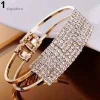 Gelang Wanita Accessories Model Bangle Bling Bracelet Murah Import