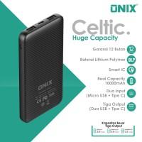 Onix Powerbank Celtic - Real 10000mAh Triple Output & Input Micro + C
