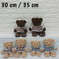 BONEKA BERUANG TEDDY BEAR BOY SWEATER
