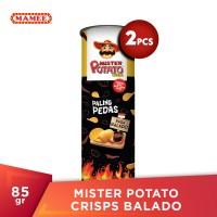 Mister Potato Crisps Sambal Balado 85gr - 2 Pcs