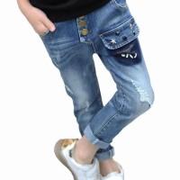 Best Brand Boys Fashion Long Jeans / Celana Panjang Anak Cowok 4-13Th