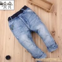 Best Brand Boy Fashion Short Jeans / Celana Pendek Anak 3-9Th