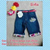 Best Brand Celana Jeans Fashion Anak Motif Sofia